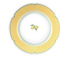 Conjunto de pratos provenza lemon - para 06 pessoas