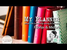 Planner / Filofax Update - my current Setups / Filofaxes currently in use - YouTube by Andrea Gomoll