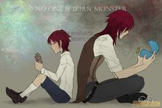 No one is born monster by krisantyl