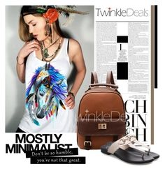 """Twinkledeal"" by elmaimsirovic ❤ liked on Polyvore featuring Serfontaine"