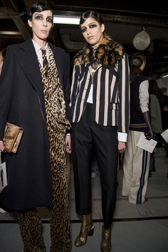 This season Dries presented a collection of regal leopard print, sumptuous red velvet, majestic faux furs, and more diamonds and pearls than you'd unearth at the Elizabeth Taylor residence.