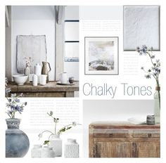 """""""Chalky Tones"""" by kearalachelle ❤ liked on Polyvore featuring interior, interiors, interior design, home, home decor, interior decorating and H&M"""