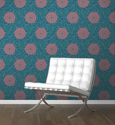 DesignYourWall has a huge collection of modern wallpaper from floral prints, geometric prints, texturized wallpaper and more! We also do custom wallpaper! Antique Wallpaper, Modern Wallpaper, Custom Wallpaper, Barcelona Chair, Tiles, Shed, Floral Prints, Butterfly, Antiques