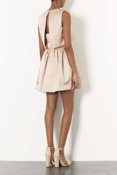Duchess Satin Skater Dress - New In This Week - New In - Topshop