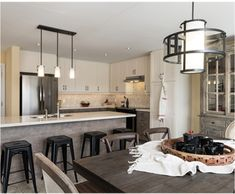 Industrial Lighting, Modern Industrial, Conference Room, Kitchen, Table, Furniture, Home Decor, Cooking, Homemade Home Decor