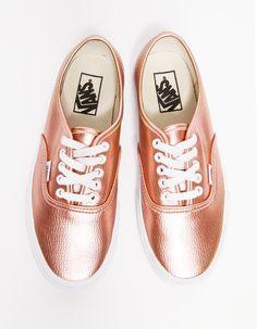 Vans - Authentic in Rose Glitter