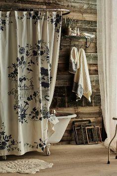 Landhausstil - Duschvorhang