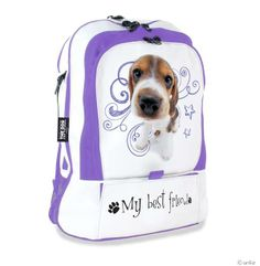 Artlist Collection THE DOG — Back to school, back pack.