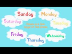 Days of the Week Song 2 - http://best-videos.in/2012/12/06/days-of-the-week-song-2/