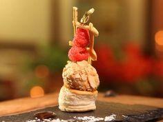 Receta | Bombón de foie con escalera y frutos rojos - canalcocina.es
