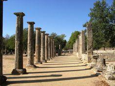 Palestra del Santuario de Olimpia (donde se celebran los Juegos Olímpicos).