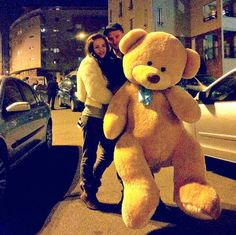 Pinterest: @icristy13 | over sized bear