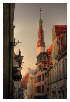 Once upon a time...Tallinn, Estonia Copyright: Ekaterina Krasnikova