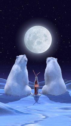 Coca cola polar bears …