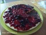 Receita Cheesecake de frutos vermelhos