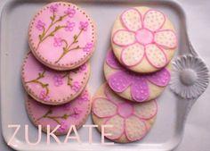 Cookies at a Garden Flower Party #gardenflower #partycookies