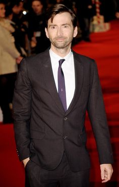 Have I already pinned this one? Who am I kidding? It doesn't matter. Mr. Tennant in a suit!