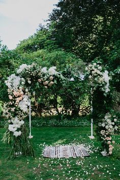 Alex & Nathan's Summer Milton Park Wedding Flower Backdrop, Ceremony Backdrop, Ceremony Decorations, Outdoor Ceremony, Wedding Ceremony, Wedding Venues, Wedding Decor, Wedding Arch Flowers, Wedding Colors