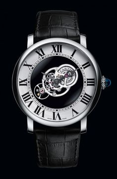 Cartier Rotonde de Cartier Astromysterieux - front