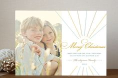 Float + Make Merry (Scripture) Christmas Photo Cards by Float Paperie at minted.com