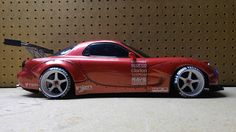 Side shot of my custom built RX7 body.