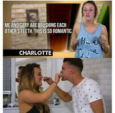 Solo loro due potevano ❤️ Geordie Shore Quotes, Charlotte And Gaz, Geordie Shore Charlotte, Just For Gags, Don Juan, Celebrity Look, Reality Tv, Mtv, Dios