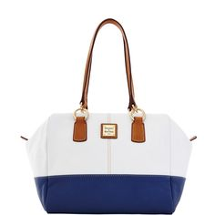 Dooney and Bourke Nautical Fashion, Nautical Style, White Denim, Dooney Bourke, Fitness Fashion, Bag Accessories, Purses And Bags, Satchel, Tote Bag