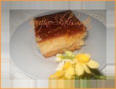 λιού σιροπιαστόΚουζινοΣκαλίσματα: Κέικ πορτοκα