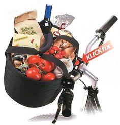 Shopper-Tasche Comfort Minischwarz, 32 x 24 x 23 cm KLICKfix: Amazon.co.uk: Sports & Outdoors