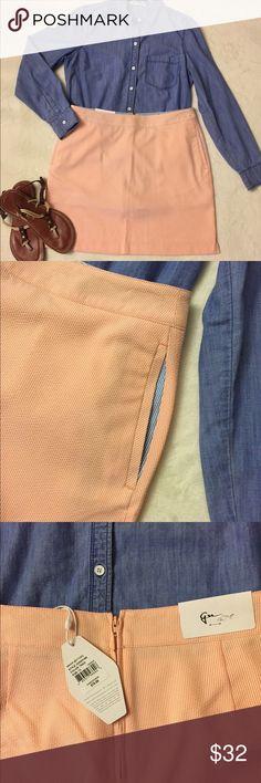 Greg Norman Seersucker Skirt Greg Norman Seersucker Skirt, Perfect for spring and summer. Size 8 Greg Norman Skirts Midi