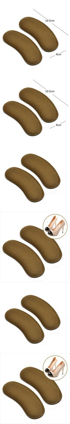 5Pairs Foot Care Protector Heel Grip Back Liner Shoe Insole Pad Shoe Heel Cushion Pain Relief Hallux Valgus Foot Feet Care Tools