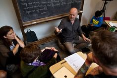 """Simon Critchley, a philosophy professor at the New School, taught a class billed as a """"Suicide Note Writing Workshop."""