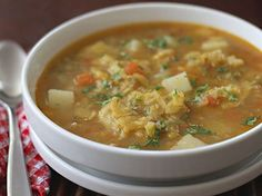 Sopa de Patacones www.antojandoando.com
