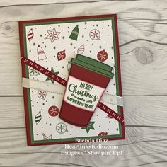 Holiday Coffee Wishes Card!
