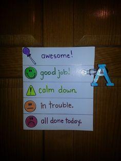 #chore #daily #behavior #charts  Stop yelling and start making them responsible.