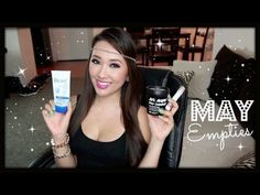 May Empties! Products I've Used Up #4 - Maybelline, LUSH - hollyannaeree - YouTube