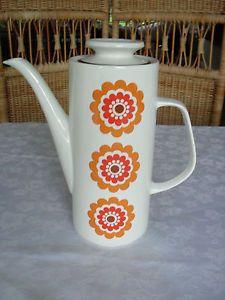 Vintage J & G Meakin Studio Coffee Pot