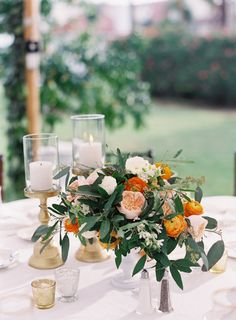 Photography : Jacqui Cole Photography   Event Planning : NK Productions Wedding Planning   Florist : MMD Events Read More on SMP: http://www.stylemepretty.com/2016/12/20/citrus-infused-florida-wedding/