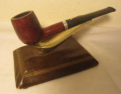 Vintage Mello Root Straight Billiard Style Estate Briar Tobacco Smoking Pipe
