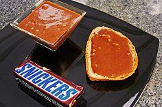 Snickers-Creme bzw. Snickers-Brotaufstrich (Rezept mit Bild) | Chefkoch.de