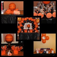 Hands of Creations by Ree - Gallery Basketball Baby Shower, Basketball Birthday Parties, Sports Birthday, Boy Birthday Parties, 2nd Birthday, Basketball Decorations, Party Planning, Party Time, First Birthdays