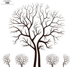 Tree vector images for Photoshop