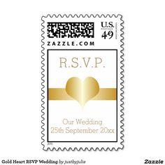 35 Best Gold Heart Wedding Stationery Images On Pinterest Wedding