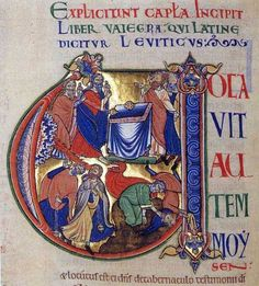 U from the Winchester Bible (fin. XII)