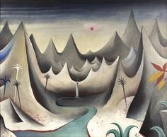 Jan Zrzavy - Hornata krajina / Mountainous Country, 1912, oil on canvas