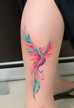 My brand new Phoenix tattooYou can find Phoenix and more on our website.My brand new Phoenix tattoo Phoenix Tattoo Feminine, Small Phoenix Tattoos, Phoenix Tattoo Design, Tribal Phoenix Tattoo, Phoenix Back Tattoo, Tattoo Designs For Women, Tattoos For Women Small, Small Tattoos, Et Tattoo