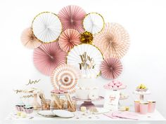Mr & Ms Pink Paper Napkin - Size: One Size - towel Just Married Girlande, Party Girlande, Paper Fans, Pink Paper, Baby Party, Paper Napkins, Rosettes, Birthday Parties, Girly