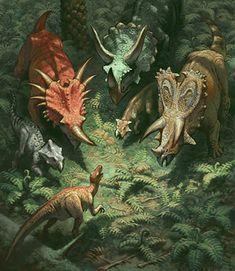 Daren Bader #Ceratopsid gang