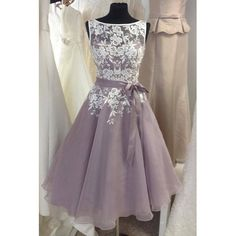 New Arrival Knee Length Lace Bridesmaid Dress with Sash