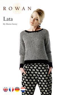 Lata Sweater in Rowan Handknit Cotton